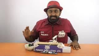 WitBlox Maker Challenge #14 - Grape Separator Machine
