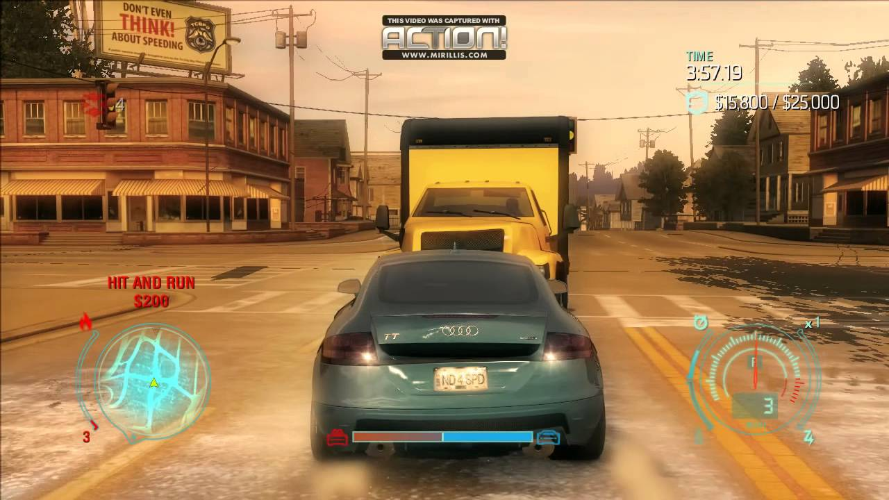 Need For Speed Undercover Gameplay PC