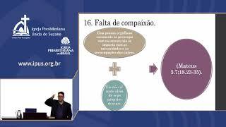 IPUS   AO VIVO   Estudo Bíblico   04/11/2020   O orgulho destrói, viva em humildade