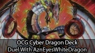 OCG Cyber Dragon Structure Deck Vs AznEyeswhiteDragon