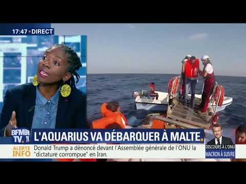 """Danièle Obono : Il n'y a pas de crise des migrant∙es ni de """"submersion"""""""