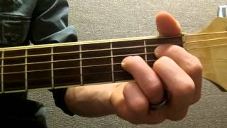 how to play an adim diminished on guitar