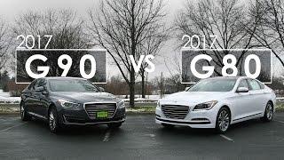 2017 Genesis Comparison G80 vs G90 Morrie s Genesis