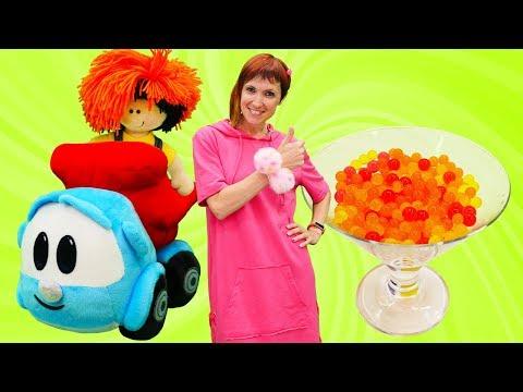 Видео для детей. Маша Капуки готовит варенье. Учим фрукты - Видео онлайн