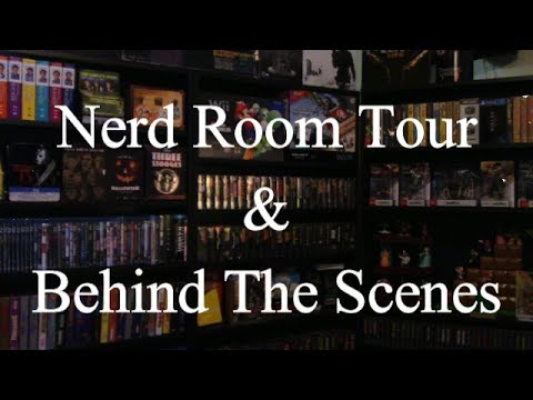 Nerd Room Tour &  Behind The Scenes thumbnail