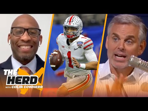 Colin Cowherd and Bucky Brooks reveal their 2021 NFL Mock Draft   NFL   THE HERD