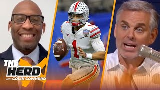 Colin Cowherd and Bucky Brooks reveal their 2021 NFL Mock Draft | NFL | THE HERD