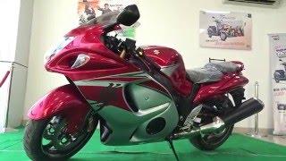 #Bikes@Dinos: Suzuki Hayabusa GSX1300R 2016 First Ride Review, Walkaround, Exhaust Note