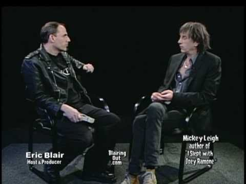 "Mickey Leigh talks to Eric Blair about his new book ""I slept with Joey Ramone""Part 1"