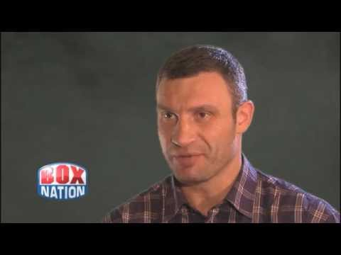 Vitali Klitschko Exclusive Interview for BoxNation
