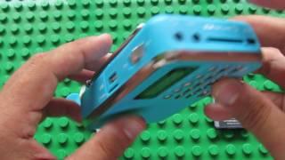 Розпакування Портативна Т-205 Цифровий Мультимедійний Динамік
