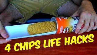 4 Chips Life Hacks Compilation