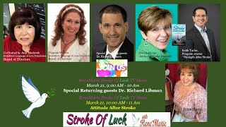 Special Returning guests Dr. Richard Libman - ReneMarie Stroke Of Luck TV Show - March 21, 9:00 AM