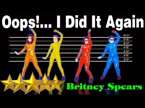 🌟 Oops ! I Did It Again - Britney Spears - The Girly Team | Just Dance 4 | Best Dance Music 🌟