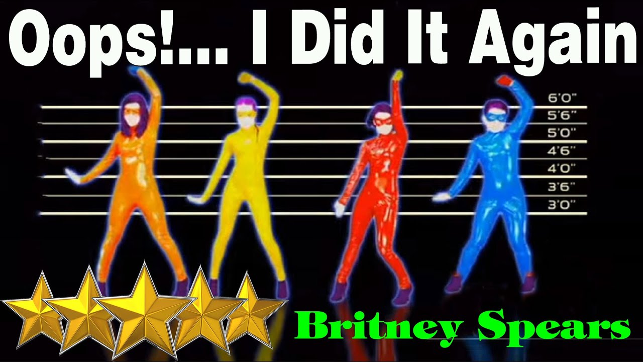 ? Oops ! I Did It Again - Britney Spears - The Girly Team   Just Dance 4   Best Dance Music ? - YouTube