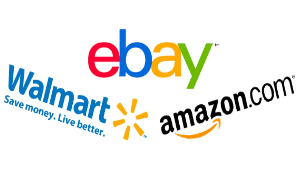 Image result for amazon walmart ebay