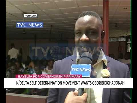 N/Delta Self Determination Movement Wants Gboribiogha As Bayelsa PDP Guber Candidate