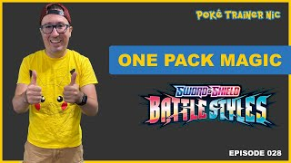 Pokémon Sword & Shield Battle Styles One Pack Magic or Not, Episode 28 #Shorts