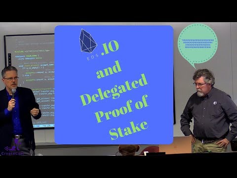 EOS.IO Chicago Presentation | Thomas Cox and Phil Mesnier