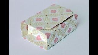 Origamibox - Geschenkbox - gift box