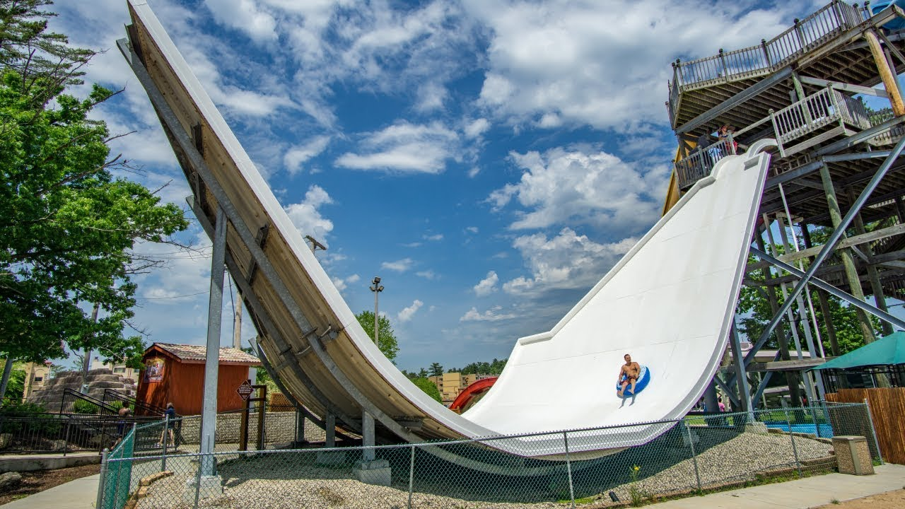 Chula Vista Resort Condominiums Wisconsin Dells Wi: Crazy Halfpipe Waterslide: Switchback Canyon