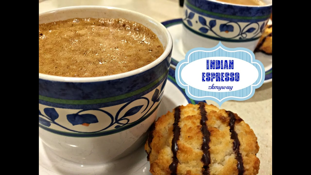 Indian espresso or soft coffee - YouTube