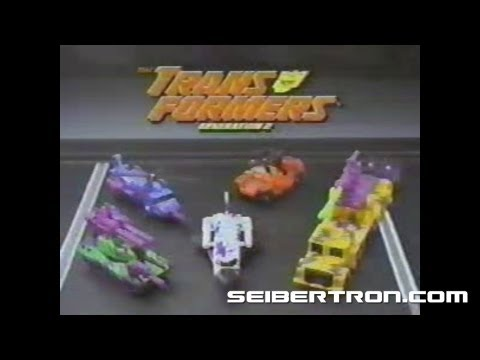 Transformers G2 Aerialbots and Combaticons commercial Generation 2 1994