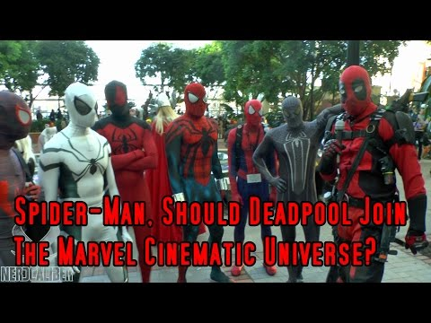 Spider-Man, Should Deadpool Join The Marvel Cinematic Universe? Katsucon 2015 Cosplay