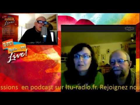 Marie et Laurent Peltier Auteurs du livre Maman, Papa je vis toujours - Au-delà des mots 26 01 2017