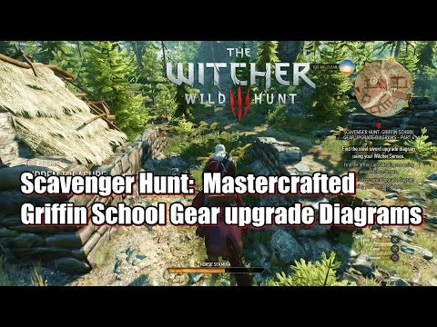 The Witcher 3 Wild Hunt Griffin School Gear Upgrade Diagrams - Part 4