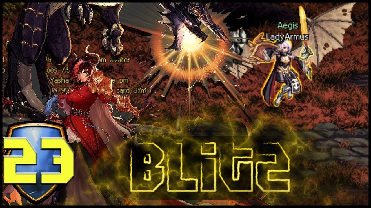 Dfo Blitz Dragon Knight The Best Aerial Class She Flies