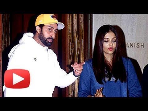 Aishwarya Rai, Abhishek Bachchan Go On A Date | Spotted