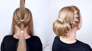 10 Легких причесок на длинные волосы Простые прически пошагово