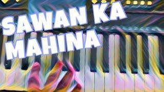 Sawan ka mahina pavan kare shor simple keyboard tutorial part 1 || Keep Repeating video ||