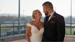 Churchill Downs Christmas Wedding| Louisville| Christmas Wedding