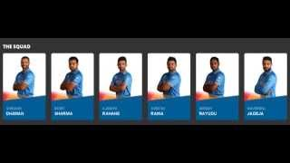 ICC Cricket World Cup India Squad 2019