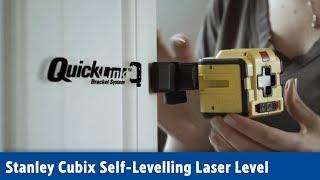 Stanley Cubix Self-Levelling Laser Level | Screwfix