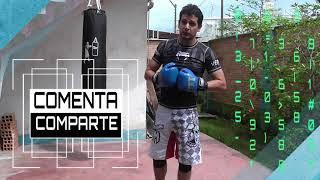 Cómo golpear el saco de boxeo II  - Combinación de 2 golpes básico en costal - Muay thai