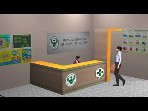 Alur Animasi 3d Pendaftaran Di Loket Rumah Sakit Dr Soeselo Slawi