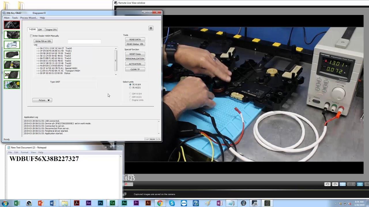 Diagspeed Pro - Mb Key Programmer, Car Key Duplication, Lost Car Keys