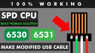How to make modified cable for SPD (spreadtrum) CPUs    ZM Lab