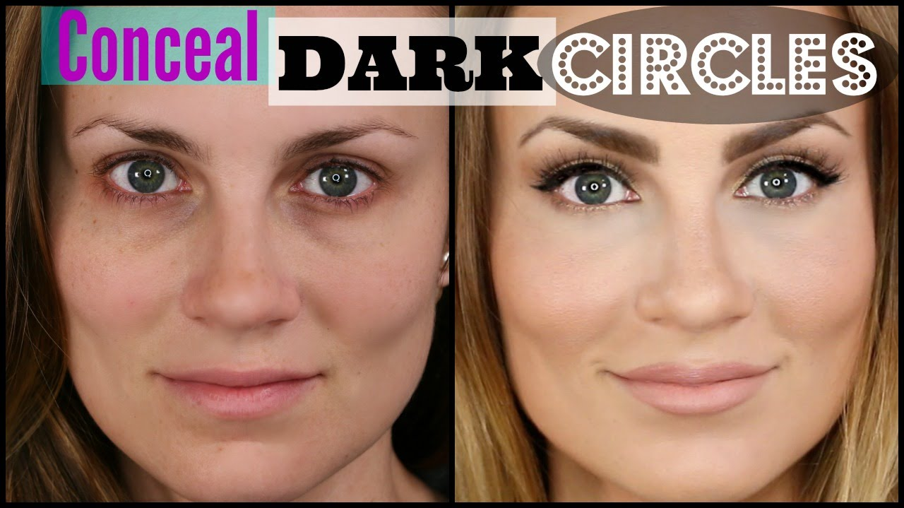 3e9750d3474326 How to Cover Dark Under Eye Circles | Easy! - YouTube