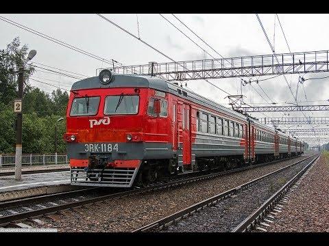 Trainz12: ЭР2К-1184 Рейс: Сандарово - Яганово. Поезд №6933 Б.