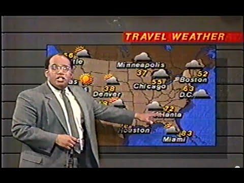1986 WNBC Newscast with Al Roker