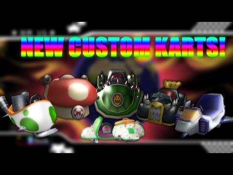mario kart wii 7 new custom karts from mk7 mk8 mkagp2 release read description youtube. Black Bedroom Furniture Sets. Home Design Ideas