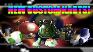 Mario Kart Wii — 7 new Custom Karts from MK7/MK8/MKAGP2 (RELEASE = READ DESCRIPTION!)