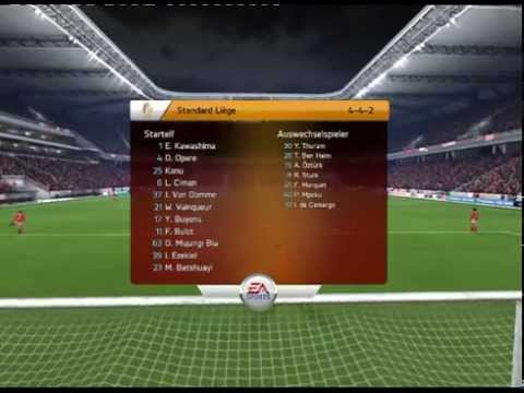 FIFA 14 (UEFA Champions League Spiel.47 Standard Lüttich vs Paris Saint-Germain)