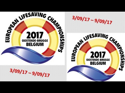 European Championships Lifesaving 2017 DAY3