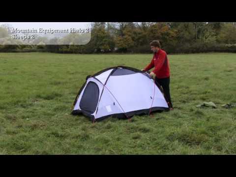Mountain Equipment Hielo 2 - Tent Pitching Video