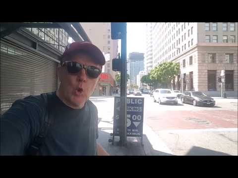 Strolling Down Broadway in Historic Downtown Los Angeles